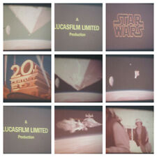 STAR WARS 1977 SUPER 8 COLOUR SOUND 400FT 8MM FILM CINE