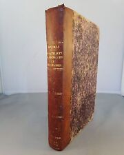 PROSPER MERIMEE / PORTRAITS HISTORIQUES ET LITTERAIRES / 1874 MICHEL LEVY E.O.