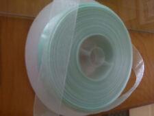 "Light Green Sheer Ribbon 1"" wide X 100 yards"