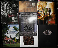 **Christies catalogue collection x 7, furniture, art.watches etc,  f124