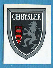 STORIA DELL'AUTOMOBILE Panini Figurina-Sticker n. 34b - CHRYSLER -Rec