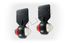 2 Stück Positionsleuchten LED Umrissleuchten LKW Begrenzungsleuchten 12 24 Volt