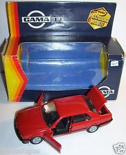 RARE GAMA MADE IN GERMANY BMW 735 I ROUGE REF 1107 1/43 IN BOX