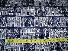 4.5 yds 5th Avenue Designs Cotton Fabric, APPLE YARD 1982 Katrina Blumenstock