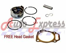 NEW Honda GXV160 5.5HP Piston and Rings Pin Clips FREE Head Gasket Vertical