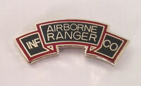 AIRBORNE RANGER Tab Military Veteran US ARMY Hat Pin 14813 HO
