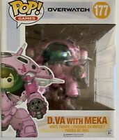 NIB Funko Pop Game Overwatch D.VA with MEKA Action Vinyl Figure Toy #177