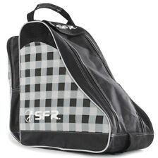 SFR - Designer Ice & Skate Bag - Black/Chequered- Roller Skate Carry Bag
