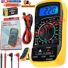 Digital LCD Multimeter Voltmeter Ammeter OHM AC DC Current Circuit Buzzer Tester