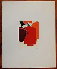 EMILIO TADINI serigrafia  SENZA TITOLO (ns rif 42)
