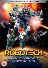 Robotech The Shadow Chronicles/love Live Alive - DVD Region 2 SH