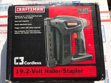 New Craftsman C3 19.2v Cordless Nailer/Stapler Gun RARE (315.115120)