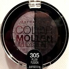 MAYBELLINE NEW YORK COLOR MOLTEN by EYE STUDIO 305 PLUM FUSION BRAND NEW SEALED