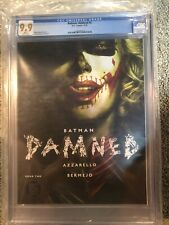 Batman Damned #2 CGC 9.9 Harley Quinn Not 9.8