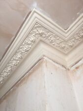 Victorian Rose Plaster Cornice Metre Delivery London This Is