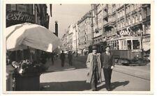 Wien VII:Gruß von der Mariahilferstasse ( Fotokarte 1939 ) Strassenbahn Linie 58