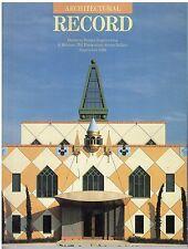 rivista - THE ARCHITECTURAL RECORD ANNO 1989 SETTMBRE
