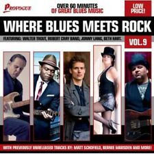 Various Artists - Where Blues Meets Rock 9 / Various [New CD] UK - Import