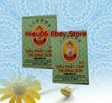 Lot 2 x 5ml Dau Phat Linh Truong Son - Medicated Essential Oil - famous Vietnam