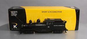 K-Line K3499-0028CC Pacific Lumber Shay Locomotive w/TMCC LN/Box