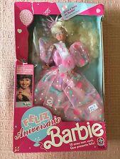 Vintage Feliz Aniversario Barbie (from Brazil)   Estrela   NRFB