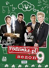 RODZINKA.pl sezon 9 DVD 2 disc POLSKI POLISH