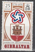Gibraltar nº 327 ** 200 años de independencia de los Estados Unidos