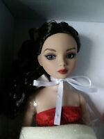 "TONNER Ellowyne Wilde  ""SOFT SIGH""  long beautiful hair, red gown, new, jewelry"