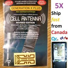 5X Cell antenna Booster generation Xplus REVISED GOLD edit. X plus phone mobile