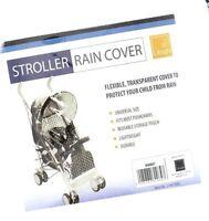 Knight Universal Essential Stroller Pushchair Rain Cover Black Trim Lightweight
