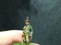 Painted 28mm metal Western character gambler  cowboy civil war steampunk