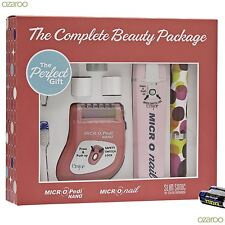 Emjoi Slim Sonic Complete Beauty Package with Toothbrush Micro Pedi & micro Nail