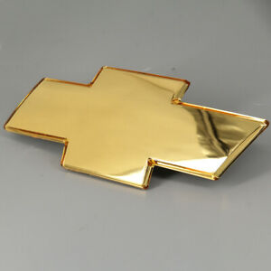 New 1X GOLD FOR 2001-2006 Chevrolet Tahoe Front Bowtie Grille Emblem Badge US