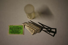 12 NOS LEWIS COMPANY HEAD HUNTER 90gr. BROADHEAD REPLACEMENT STAINLESS BLADES