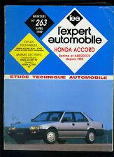 (114B) REVUE TECHNIQUE EXPERT AUTOMOBILE HONDA ACCORD