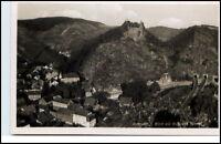 Altenahr Rheinland-Pfalz  AK ~1935/40  Blick zur Burg mit Tunnel ungelaufen