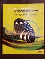 Macromedia Dreamweaver 3: Using Dreamweaver Paperback – 1999 1st Ed