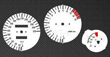 Yamaha FZR600 4JH Tachoscheiben Tacho FZR 600 Gauge Tachoblätter dial face Set