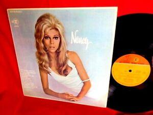 NANCY SINATRA Nancy LP NEW ZEALAND 1969 EX+ First Pressing !!!!!!Very Rare!!!!!!