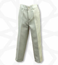 Pantalons beige pour garçon de 10 ans