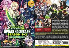 DVD ANIME Owari no Seraph Sea 1&2 Vol.1 -24 End Eng Subs All Region + FREE SHIP