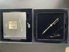 Brand New Meisterstück Montblanc Mozart 114 Fountain Pen Set With CD (NIB: B)
