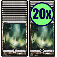 20x SWAMP 272 Full Art Basic Land NM/LP MTG Magic The Gathering Zendikar Rising