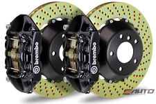 Brembo Rear GT Big Brake 4Pot Caliper Black 345x28 Drill Disc for FRS GT86 BRZ