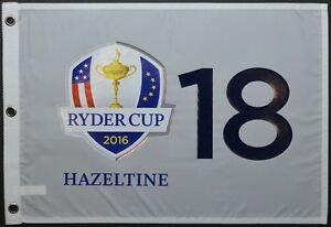 2016 SPECIAL EDITION Ryder Cup (Hazeltine) SCREEN PRINT Golf FLAG