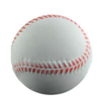 Baseball Hand Wrist Exercise Stress Relief Relaxation Squeeze Soft Foam Ball HD