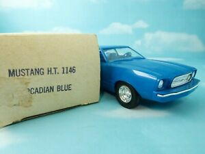 1974 Mustang in original factory Arcadian Blue with box