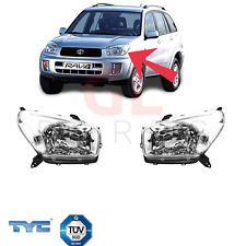 For TOYOTA RAV4 II XA20, 2000-2003 Headlight Lamp SET PAIR NEW TYC ECE TUV H4