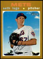 Seth Lugo 2020 Topps Heritage 5x7 Gold #7 /10 Mets