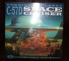 FORBIDDEN PLANET SPACE CRUISER C-57D MODEL-  MINT FACTORY SEALED  SCI-FI CLASSIC